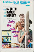"Movie Posters:Drama, Baby the Rain Must Fall (Columbia, 1965). One Sheet (27"" X 41""),Lobby Card Set of 8 (11"" X 14""), & Cut Pressbook (12 Pages,...(Total: 10 Items)"