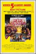 """Movie Posters:Drama, The Deer Hunter (Universal, 1978). One Sheet (27"""" X 41"""") &Uncut Pressbook (16 Pages, 8.5"""" X 11"""") Academy Awards Style.Dram... (Total: 2 Items)"""