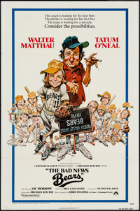 "The Bad News Bears (Paramount, 1976). One Sheet (27"" X 41"") & Pressbook (18 Pages, 8.5"" X 11""..."