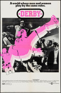 """Movie Posters:Sports, Derby (Cinerama Releasing, 1971). One Sheet (27"""" X 41"""") & Lobby Card Set of 8 (11"""" X 14""""). Sports.. ... (Total: 9 Items)"""
