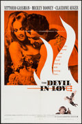 """Movie Posters:Foreign, The Devil in Love (Warner Brothers, 1968). One Sheet (27"""" X 41"""")& Lobby Card Set of 8 (11"""" X 14""""). Foreign.. ... (Total: 9Items)"""