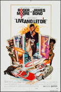 "Movie Posters:James Bond, Live and Let Die (United Artists, 1973). One Sheet (27"" X 41""). James Bond.. ..."