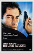 "Movie Posters:James Bond, The Living Daylights (United Artists, 1987). One Sheet (27"" X 41"") Advance & Promo (11.75"" X 17.5 ). James Bond.. ... (Total: 2 Items)"