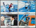 "Movie Posters:James Bond, On Her Majesty's Secret Service (United Artists, R-1984). LobbyCards (4) (11"" X 14""). James Bond.. ... (Total: 4 Items)"