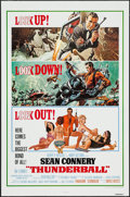 "Movie Posters:James Bond, Thunderball (United Artists, R-1980). One Sheet (27"" X 41""). JamesBond.. ..."