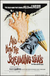 """And Now the Screaming Starts! & Other Lot (Cinerama Releasing, 1973). One Sheets (2) (27"""" X 41""""). Horr..."""