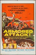 "Movie Posters:War, Armored Attack & Others Lot (NTA, R-1957). One Sheets (3) (27""X 41""). War.. ... (Total: 3 Items)"