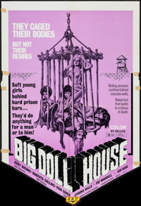 "Big Doll House (New World, 1971). One Sheet (27"" X 39"") & Lobby Card Set of 8 (11"" X 14""). B..."