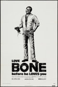 "Movie Posters:Blaxploitation, Bone (Jack Harris Enterprises, 1972). One Sheet (27"" X 41"").Blaxploitation.. ..."