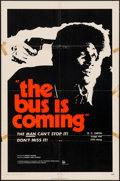 "Movie Posters:Blaxploitation, The Bus is Coming (William Thompson Intl., 1971). One Sheet (27"" X41""). Blaxploitation.. ..."