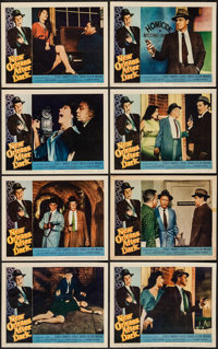 """New Orleans After Dark (Allied Artists, 1958). Lobby Card Set of 8 (11"""" X 14""""). Crime. ... (Total: 8 Items)"""