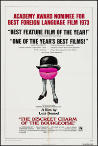 "The Discreet Charm of the Bourgeoisie (20th Century Fox, 1972). One Sheet (27"" X 41"") Style B. Foreign"