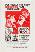 "Movie Posters:Horror, Mark of the Devil & Others Lot (Hallmark, 1970). One Sheets (3) (27"" X 41""). Horror.. ... (Total: 3 Items)"