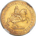 German States:Saxony, German States: Saxony. Friedrich August II gold Vicariate Ducat 1741 MS63 NGC,...