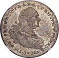 German States:Bavaria, German States: Bavaria. Karl Theodor Vicariat Issue 1/2 Taler 1790MS63 NGC,...