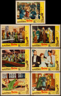 "Movie Posters:Adventure, Bagdad (Realart, R-1956). Lobby Cards (7) (11"" X 14""). Adventure..... (Total: 7 Items)"