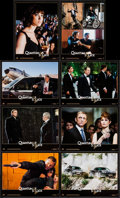 "Movie Posters:James Bond, Quantum of Solace (Sony Pictures Releasing, 2008). French LobbyCard Set of 8 (8.25"" X 11""). James Bond.. ... (Total: 8 Items)"
