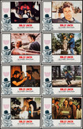 "Movie Posters:Action, Billy Jack (Warner Brothers, 1971). Lobby Card Set of 8 (11"" X14""). Action.. ... (Total: 8 Items)"
