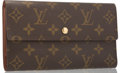 "Luxury Accessories:Accessories, Louis Vuitton Classic Monogram Canvas Porte Tresor Wallet. VeryGood Condition. 7.5"" Width x 4"" Height x .5"" Depth. ..."