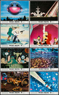 """Movie Posters:Animation, Heavy Metal (Columbia, 1981). Mini Lobby Card Set of 8 & Photos (8) (8"""" X 10""""). Animation.. ... (Total: 16 Items)"""