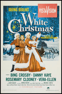 "White Christmas (Paramount, 1954). One Sheet (27.5"" X 42""). Musical"