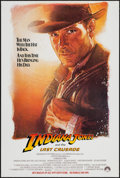 "Movie Posters:Action, Indiana Jones and the Last Crusade (Paramount, 1989). One Sheet(27"" X 40.5"") SS Advance. Action.. ..."