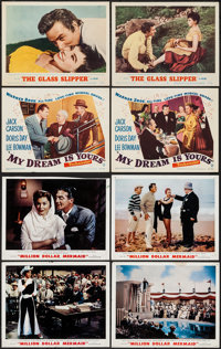 "Million Dollar Mermaid & Others Lot (MGM, 1952). Lobby Cards (12) (11"" X 14""). Musical. ... (Total: 12..."