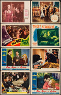 "Movie Posters:Crime, Unholy Partners & Others Lot (MGM, 1941). Lobby Cards (11) (11"" X 14""). Crime.. ... (Total: 11 Items)"