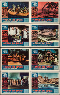 "The Angry Red Planet (American International, 1960). Lobby Card Set of 8 (11"" X 14""). Science Fiction. ... (To..."