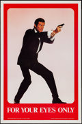 "Movie Posters:James Bond, For Your Eyes Only (Grezon, 1981). One Sheet (27"" X 41"") SpecialAdvance. James Bond.. ..."