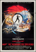 """Movie Posters:James Bond, The Living Daylights & Others Lot (United Artists, 1987).Venezuelan One Sheet (26"""" X 37.5""""), One Sheets (7) (27"""" X 41""""),an... (Total: 9 Items)"""