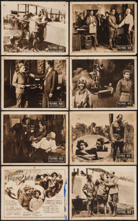 """The Flying Ace (Norman, 1926). Lobby Card Set of 8 (11"""" X 14""""). Black Films. ... (Total: 8 Items)"""