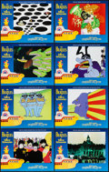 "Movie Posters:Animation, Yellow Submarine (UIP, R-1999). International Lobby Card Set of 8 (11"" X 14""). Animation.. ... (Total: 8 Items)"