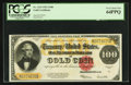 Large Size:Gold Certificates, Fr. 1215 $100 1922 Gold Certificate PCGS Very Choice New 64PPQ.....