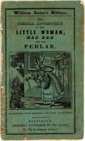 Books:Children's Books, [Children's Literature, Hand-Colored Illustrations]. The Comical Adventures of the Little Woman, Her Dog, and the Pedlar...