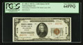 National Bank Notes:Missouri, Saint Louis, MO - $20 1929 Ty. 2 Mercantile Commerce NB Ch. # 4178....