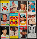 Baseball Cards:Lots, 1960-63 Leaf & Topps Baseball Collection (550+)....