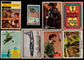 Non-Sport Cards:Lots, 1952-63 Non-Sports Collection (800+) With Zorro, Flag Midgee, Funny Monsters!...