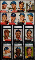 Baseball Cards:Sets, 1953 Topps Baseball Near Set (270/274). ...