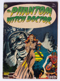Golden Age (1938-1955):Horror, The Phantom Witch Doctor #1 (Avon, 1952) Condition: VG....