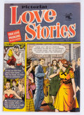 Golden Age (1938-1955):Romance, Pictorial Love Stories #1 (St. John, 1952) Condition: VG+....