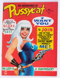 Pussycat #1 (Marvel, 1968) Condition: GD+