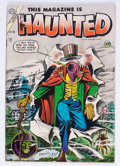 Golden Age (1938-1955):Horror, This Magazine Is Haunted #19 (Charlton, 1954) Condition: VG/FN....