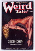 Pulps:Horror, Weird Tales - June 1938 (Popular Fiction) Condition: FN....