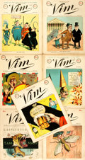 Books:Periodicals, Group of Seven Issues of Vim, Vol. I, No. 1-7. VimPublishing Co., June 22 - August 3, 1898....