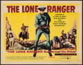 """Movie Posters:Western, The Lone Ranger and the Lost City of Gold (United Artists, 1958).Half Sheet (22"""" X 28"""") Style B. Western.. ..."""