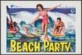 """Movie Posters:Comedy, Beach Party (General Films, 1963). Belgian (14.25"""" X 21.5"""").Comedy.. ..."""