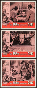 "Movie Posters:Horror, The Brain That Wouldn't Die (American International, 1962). Lobby Cards (3) (11"" X 14""). Horror.. ... (Total: 3 Items)"