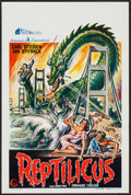 "Movie Posters:Science Fiction, Reptilicus (General Films, 1961). Belgian (14.25"" X 21.25"").Science Fiction.. ..."