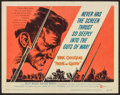 "Movie Posters:War, Paths of Glory (United Artists, 1958). Title Lobby Card (11"" X 14""). War.. ..."